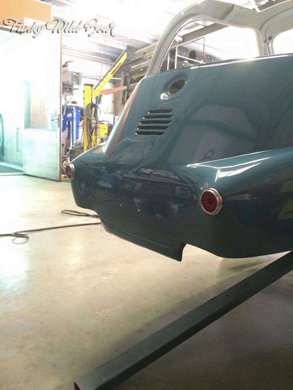 Isetta BMW funky wild boar